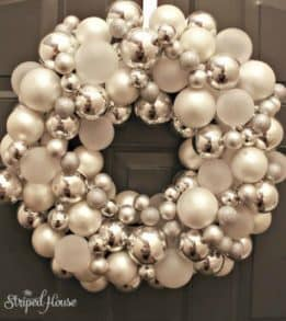 FOOLPROOF, CHRISTMAS ORNAMENT WREATH TUTORIAL