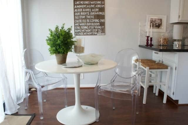 Kitchen Table Slider Pic