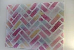 {Reverse} Herringbone Painting Tutorial