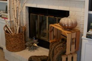 Bloggers Fall Tour Week 3: Fireplace Mantles