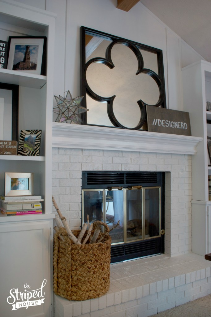 Best primer and paint for fireplaces and wood built-ins.