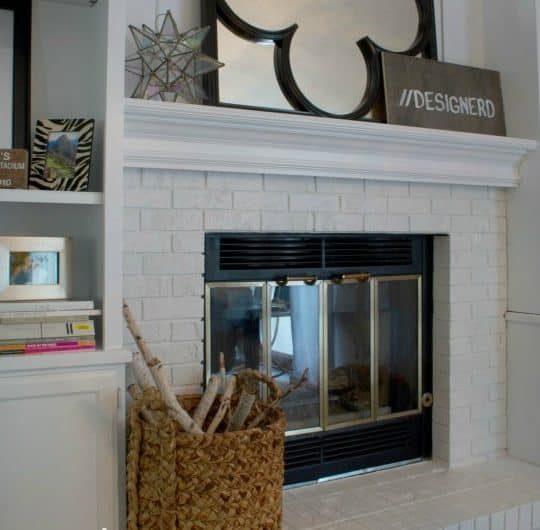 FIREPLACE & BUILT-INS MAKEOVER