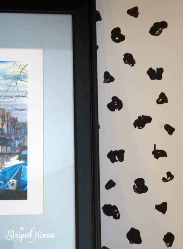 DIY Animal Print Bookcase Background 2