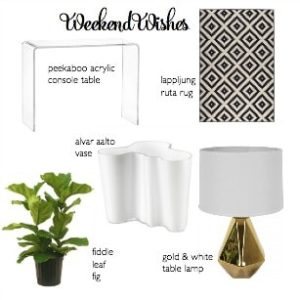 Weekend Wishes | Dining Room