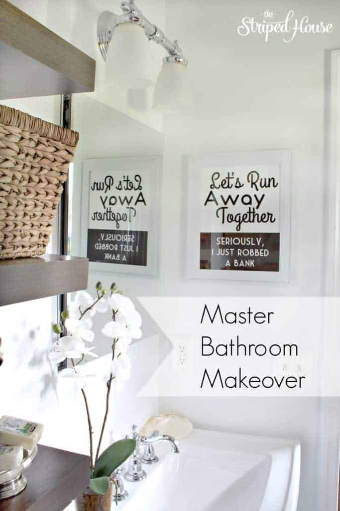 Master Bathroom with overlay - The Striped House