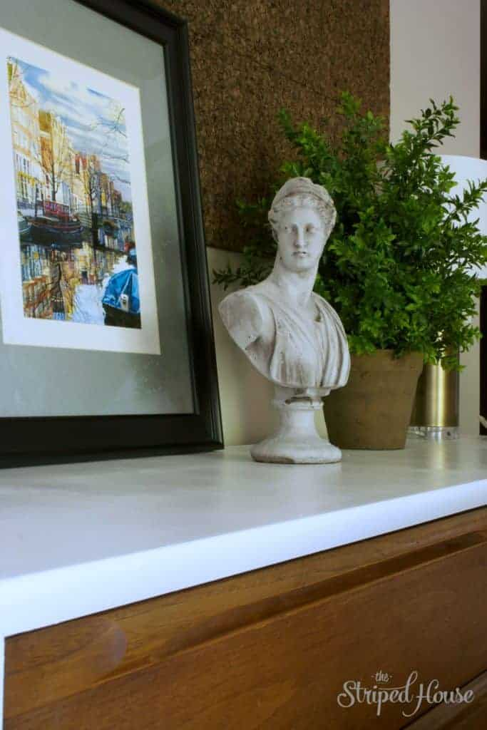Dining Room Credenza Makeover 4 - The Striped House
