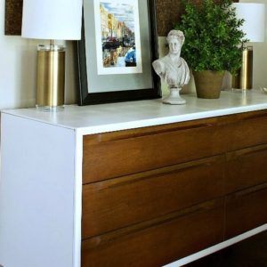 CREDENZA MAKEOVER FOR A DINING ROOM