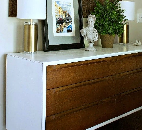 DINING ROOM CREDENZA MAKEOVER The Striped House
