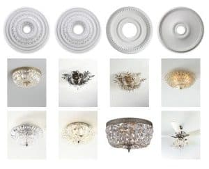 Ceiling Fixtures & Medallions for My Bedroom