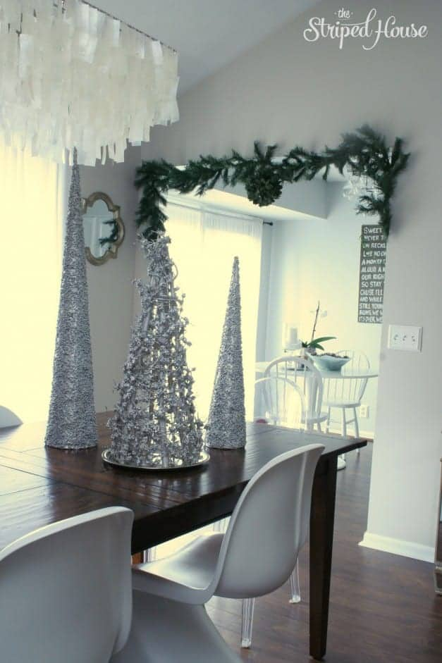 Christmas 2015 Arch - The Striped House