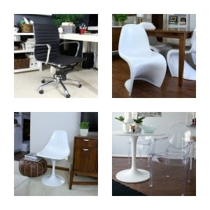 Hi – Lo:  Mid-Century & Contemporary Chairs
