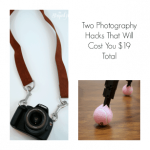 Two Photography Hacks for $19