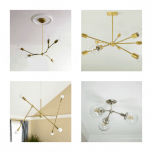 Sputnik Chandeliers on Etsy You'll Love