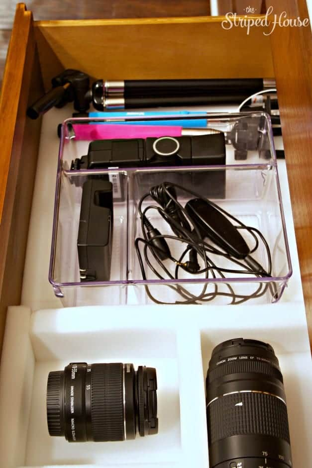 The Striped House - $10 Camera Drawer 2