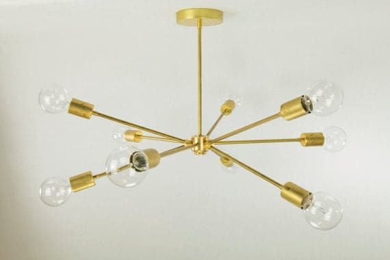 The Striped House - Sputnik Chandelier 1