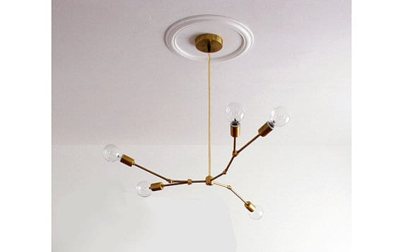 The Striped House - Sputnik Chandelier 3