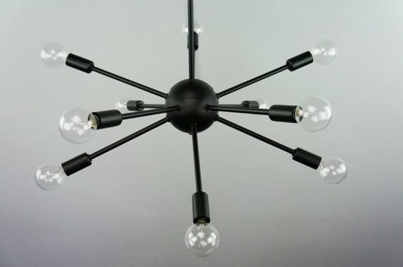 The Striped House - Sputnik Chandelier 5