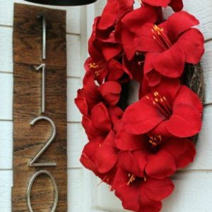 CONTEMPORARY DIY HOUSE NUMBERS