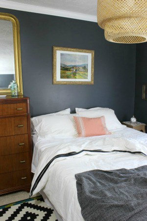 GUEST BEDROOM MAKEOVER | ONE ROOM CHALLENGE FINAL WEEK