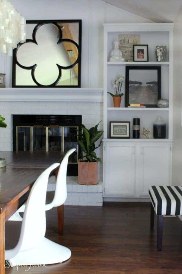 dining room eclectic summer home tour