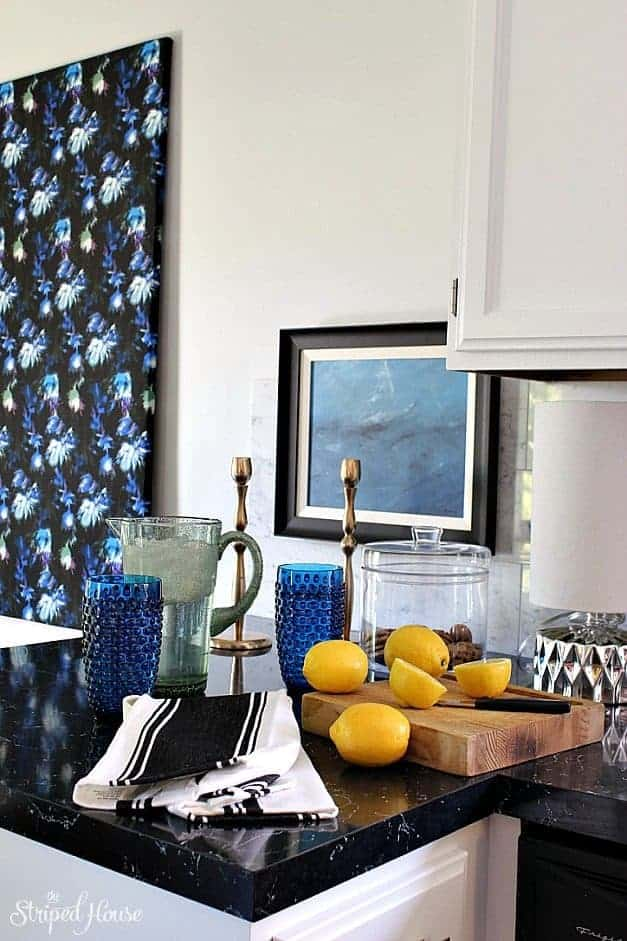 the striped house summer home tour kitchen
