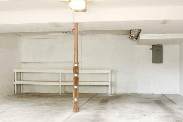 garage-makeover-white-painted-walls-back-wall