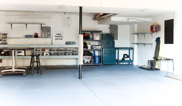 garage-makeover-back-wall-one-room-challenge-the-striped-house