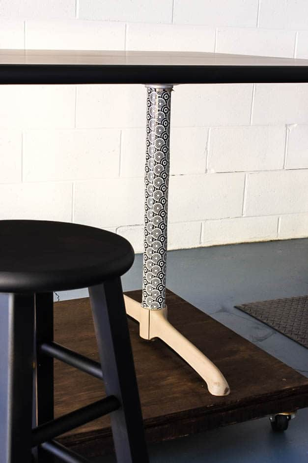 garage-makeover-rolling-table-duct-tape-one-room-challenge-the-striped-house
