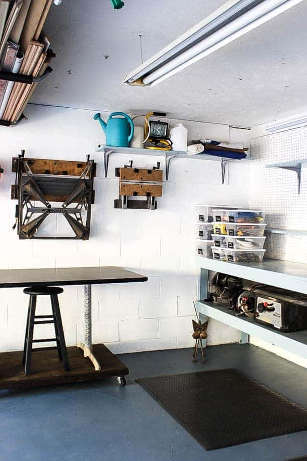 garage-makeover-work-bench-tools-one-room-challenge-the-striped-house