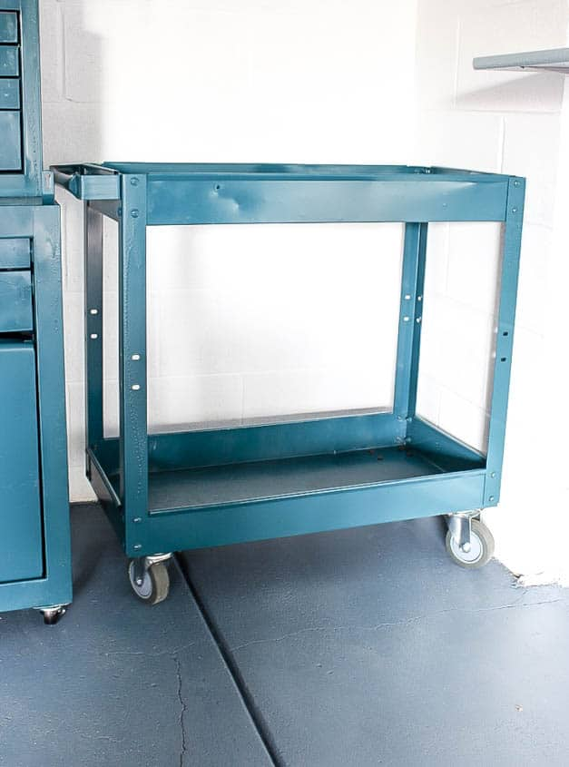 metal-tool-cart-tool-garage-makeover-the-striped-house