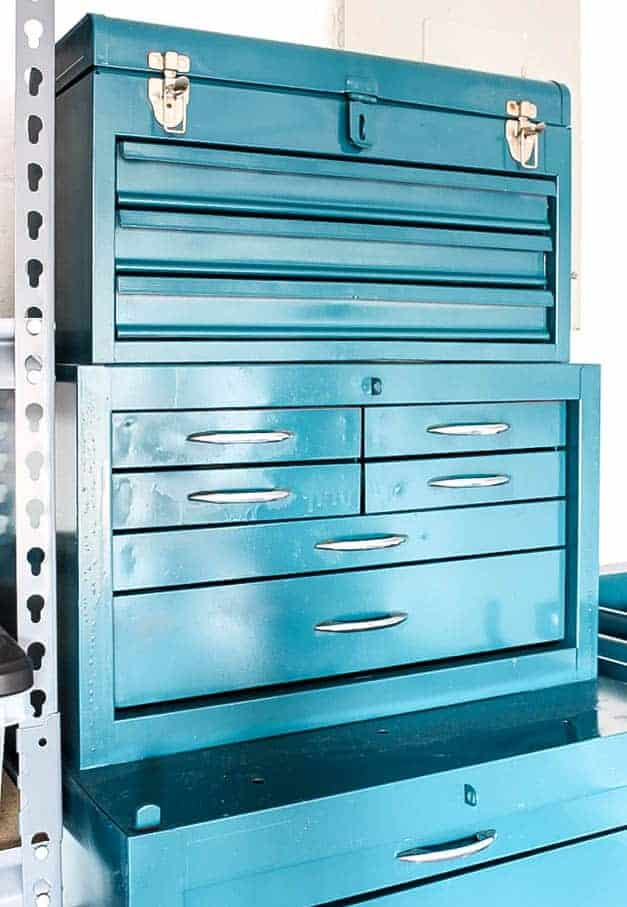 metal-tool-chest-makeover-garage-the-striped-house