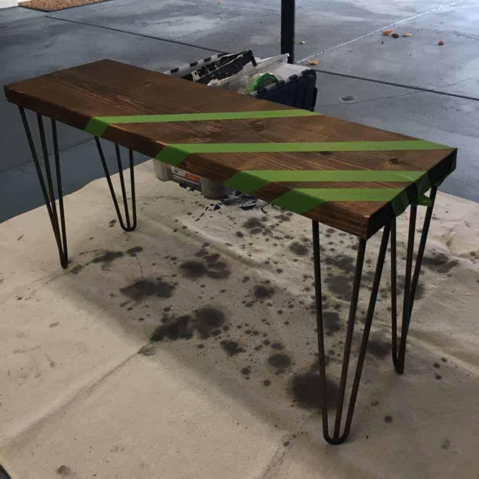 midcentury-modern-bench-tutorial-paint-tape