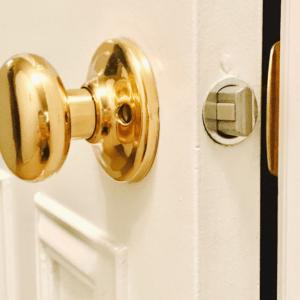 INTERIOR DOOR KNOBS & HARDWARE