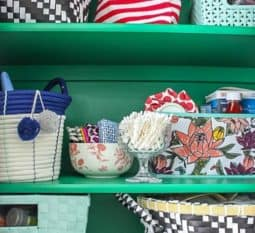 EMERALD GREEN HALL CLOSET MAKEOVER