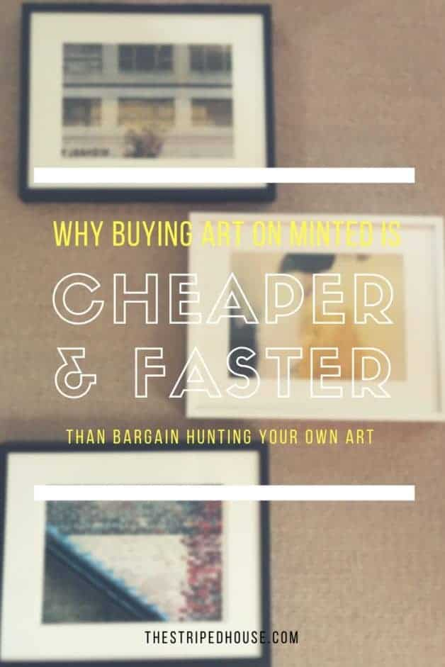 why Minted art is faster and cheaper than bargain hunting art