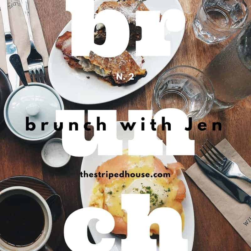 Brunch with Jen N.2 | The Striped House | my favorite fun new finds
