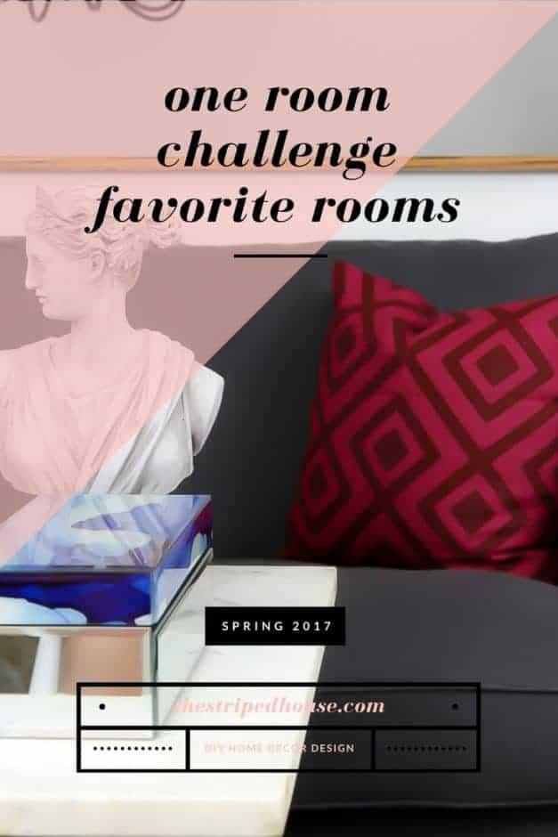 One Room Challenge Spring 2017 Favorite Rooms