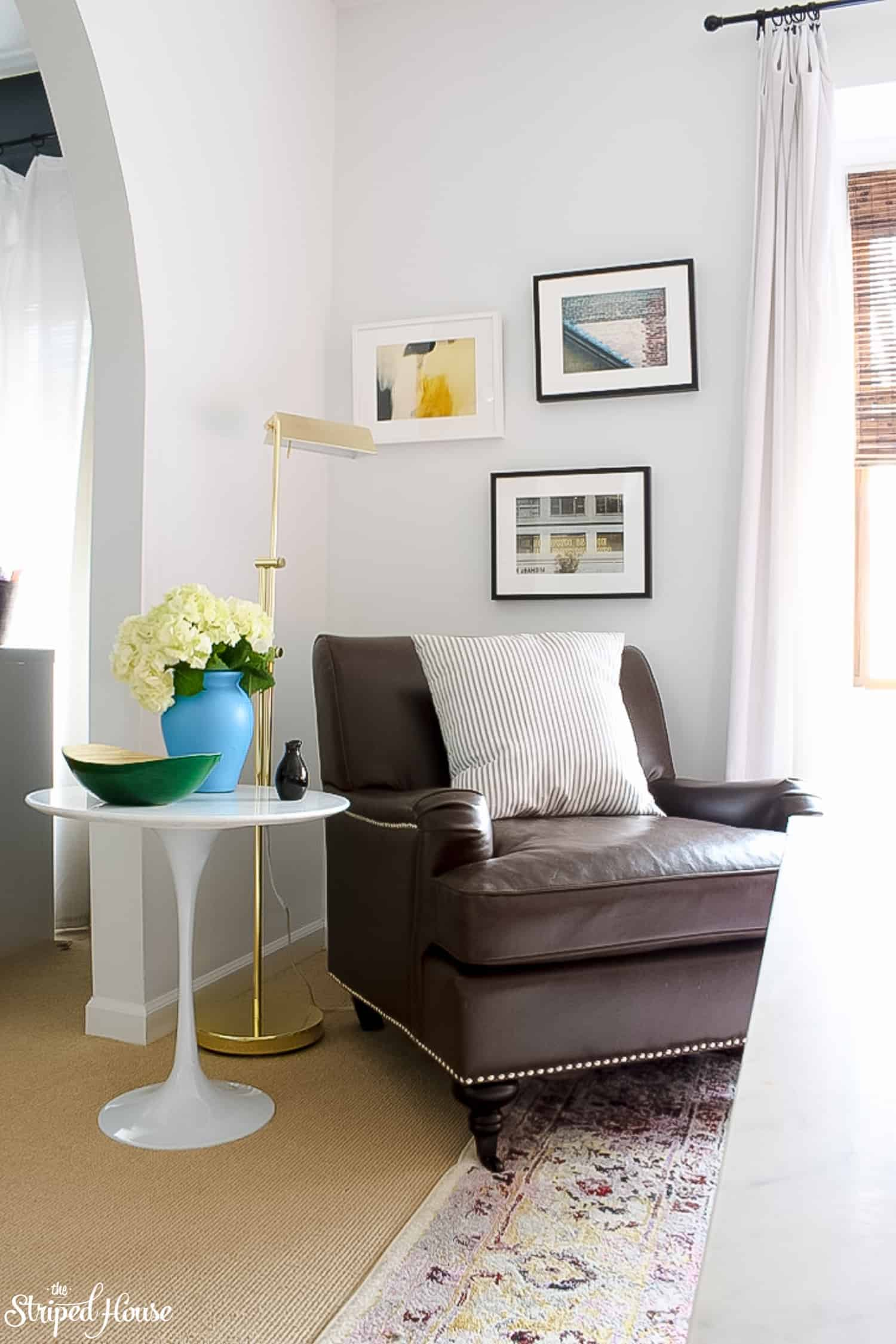 modern traditional colorful spring home tour