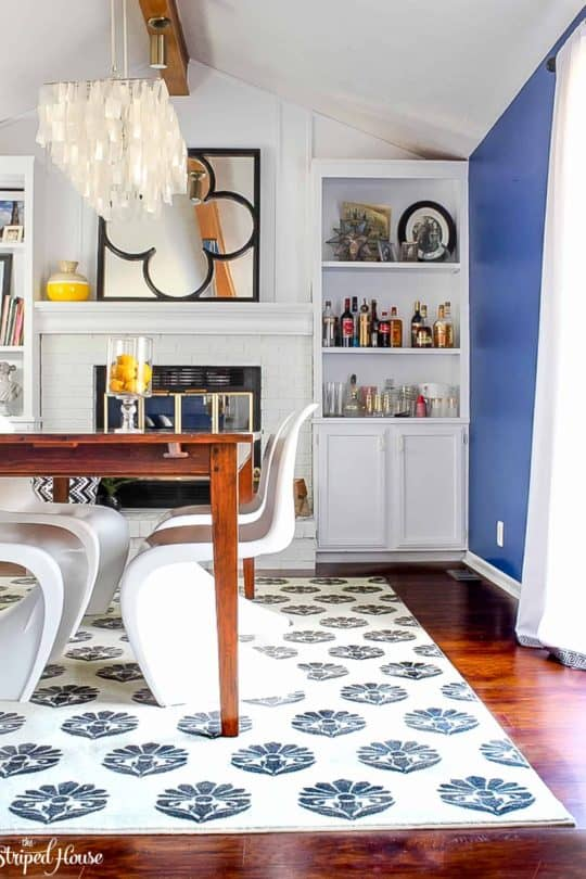 DINING ROOM SPRING HOME TOUR WITH MOHAWK