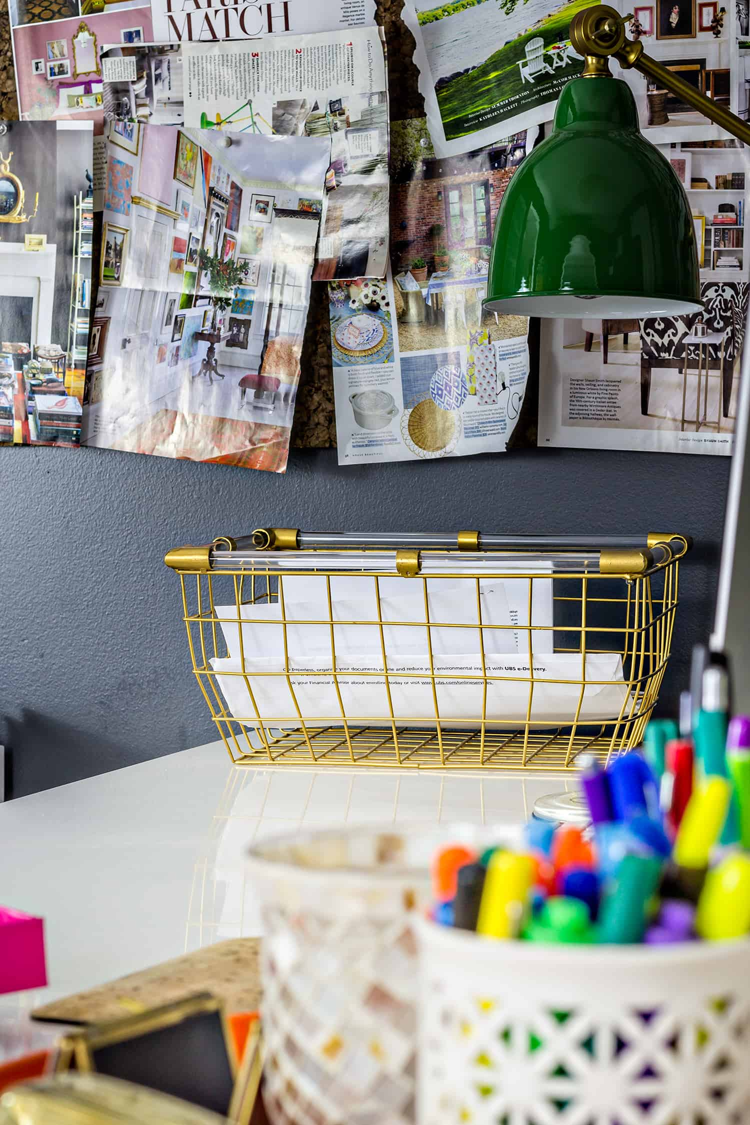 A grown up office update with back to school supplies and accessories that are budget friendly and stylish. #backtoschool #gotitatgordmans #ad #office