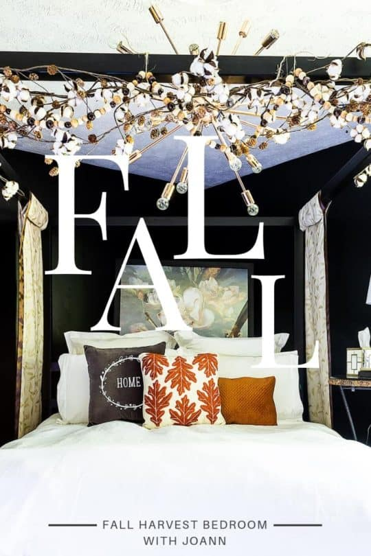 FALL HARVEST BEDROOM DECOR