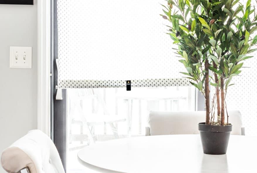 DIY IKEA WINDOW SHADE PULL