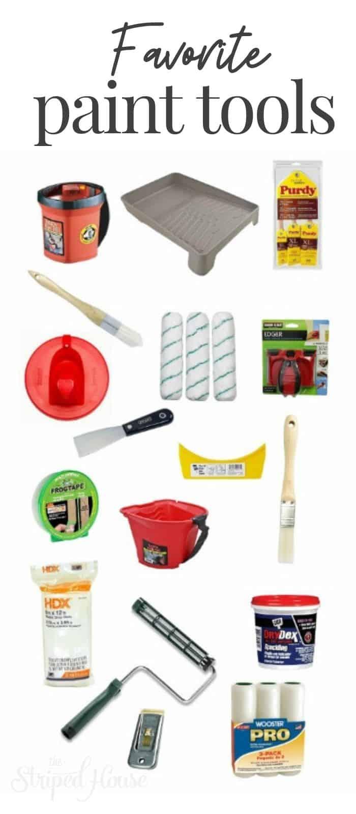 My favorite home painting tools.  #homedecor #painting #interiordesign #diy #diy decor