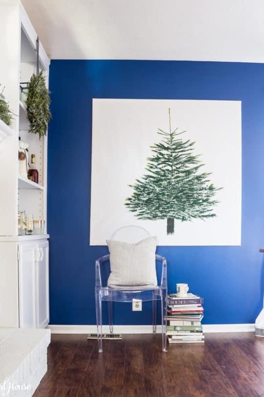 IKEA VINTER CHRISTMAS FABRIC DIY