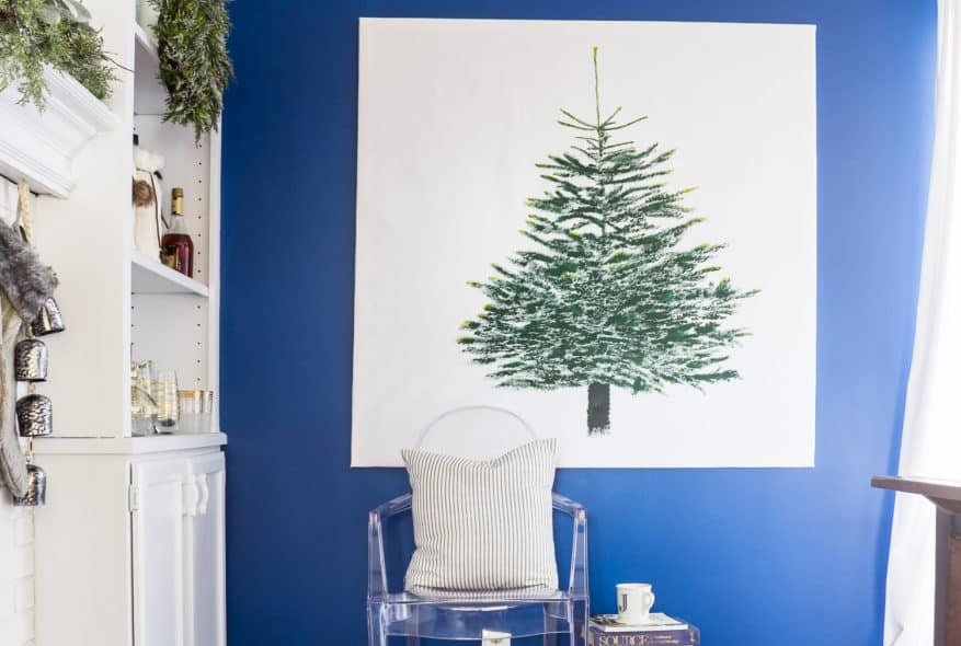 IKEA VINTER CHRISTMAS FABRIC DIY