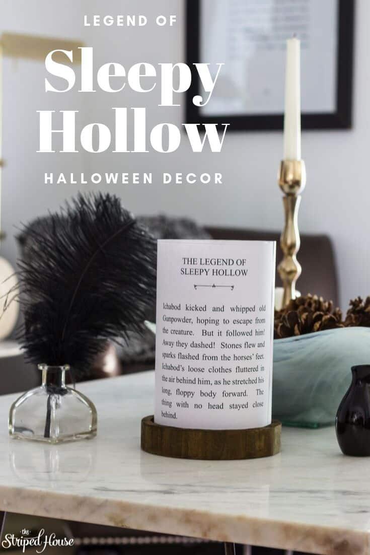 legend of sleepy hollow diy halloween decor