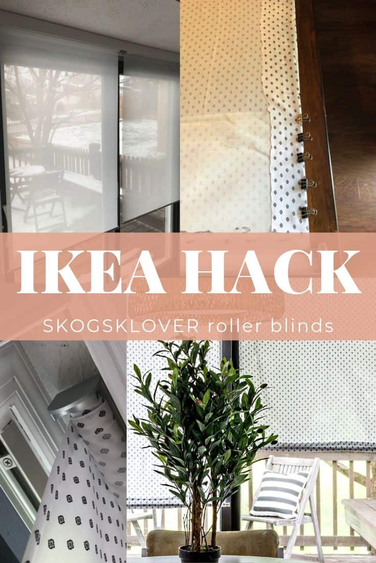 ikea skogsklover roller blind replacement